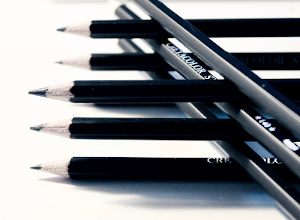Pencils for creative writing