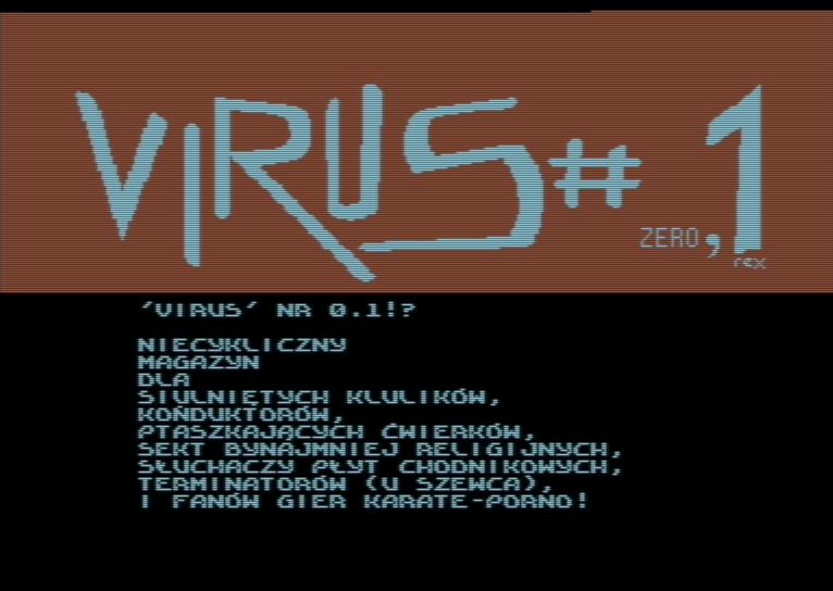 Virus 01 1995 Virus Crew Free Download Borrow And Streaming Internet Archive