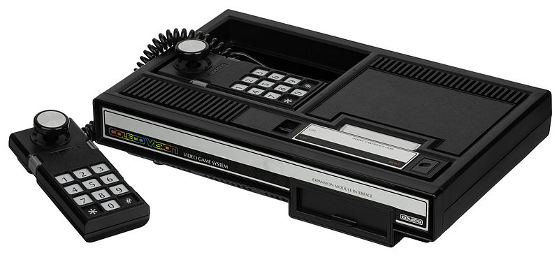Coleco-vision-console Internet Archive puts classic console games online such as the Atari 2600 and others