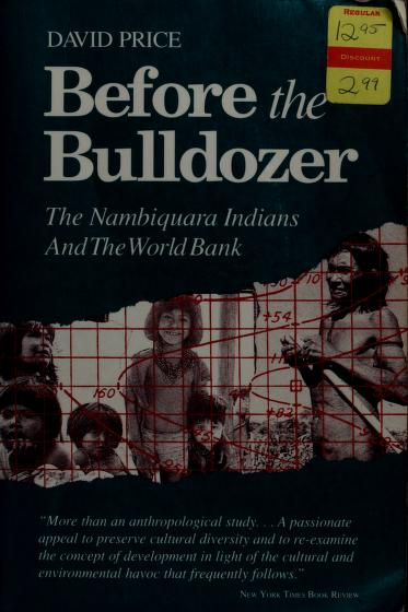 Before the Bulldozer by David Price
