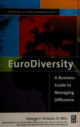 Cover of: Eurodiversity | George F Simons