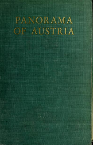 Panorama of Austria by Reynolds, James