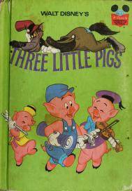 Cover of: THE THREE LITTLE PIGS (Disney's Wonderful World of Reading) | Disney Book Club
