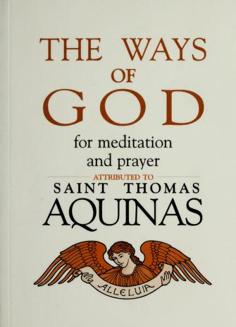 Cover of: The ways of God by Thomas Aquinas